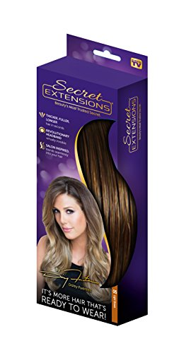 Secret Extensions - Hair Extensions by Daisy Fuentes, As Seen on TV, Light