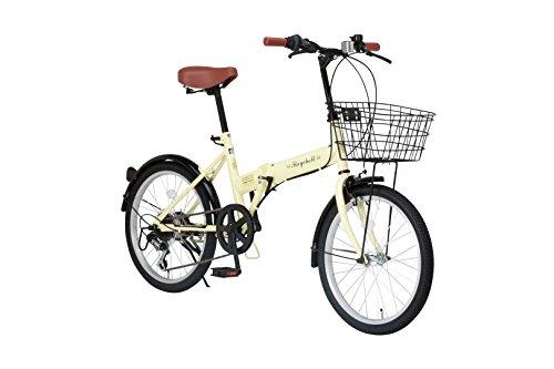 [해외] Raychell(레이첼) 20인치 접이식 자전거 FB-206R 시마노6 단변속 프론트LED라이트부 [메이커 보증1년]