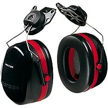 3M Peltor Optime 105 Helmet Attachable Earmuff, Ear Protectors, Hearing Protection, NRR 27 dB