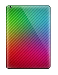 AmandaMichaelFazio Snap On Hard Case Cover Bright Resolution Protector For Ipad Air