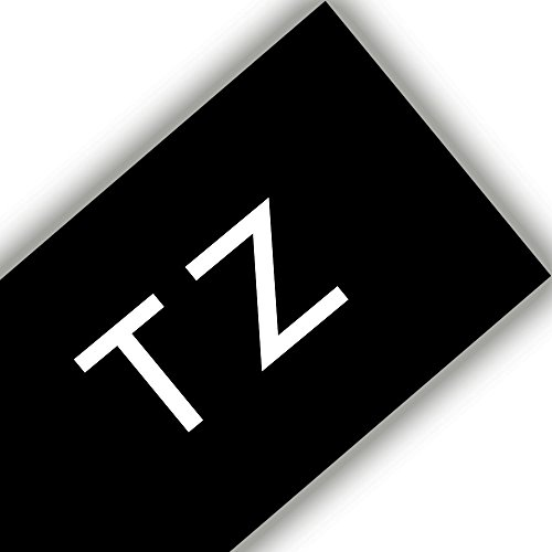 2PK TZ TZe 345 White on Black Label Tape 3//4/'/' For Brother P-touch PT-1950 2710