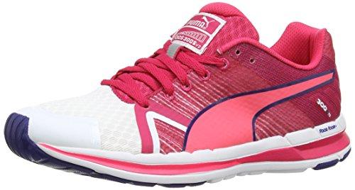 S Para Faas De Mujer wht Puma pink Zapatillas V2 Material Running Sintético 300 f Weiß Wn's UnTTv