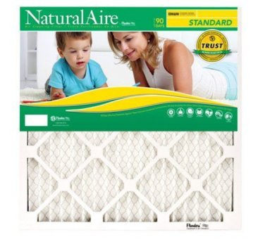 20x21-1/2x1, Naturalaire Standard Air Filter Merv 8, 84858.0120215, Pack12 by Flanders
