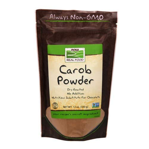 Now Foods Carob Powder Roasted - 12 oz. ( Multi-Pack)