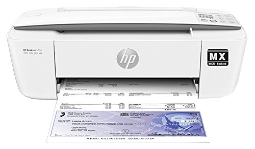 VersaCheck HP Deskjet 3755MX - MICR All-In-One Printer - Gray (HP3755-4649)