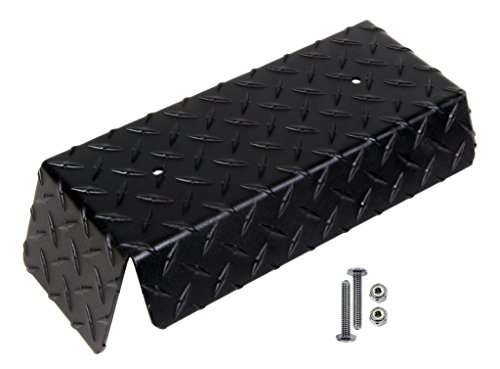 Club Car DS Golf Cart Black Diamond Plate Front Bumper