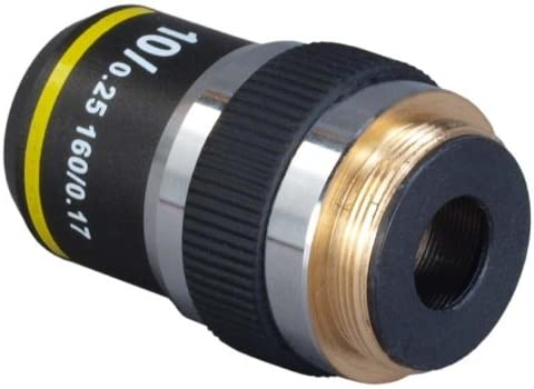 OMAX 10X DIN Achromatic Objective Lens for Compound Microscopes