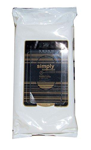 Skinn Simply Sun Kissed Tanning Cloths for Face & Body 30 PC by Skinn