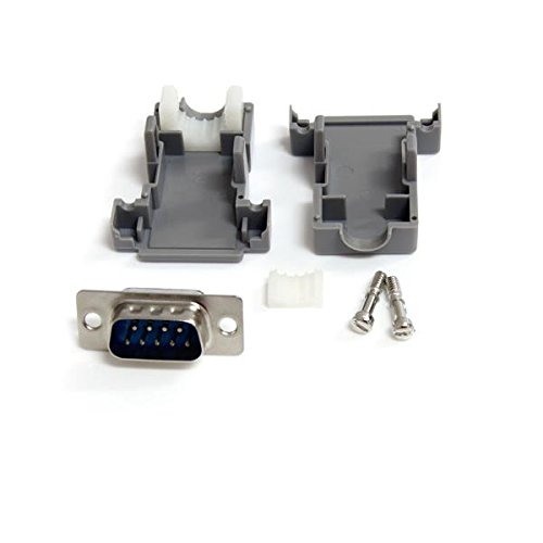 StarTech.com Assembled DB9 Male Solder D-SUB Connector with Plastic Backshell (C9PSM)