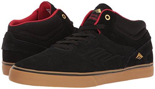 Emerica Westgate Mid Vulc, Color: Black/Gum, Size: 45.5 Eu / 11.5 Us / 10.5 Uk