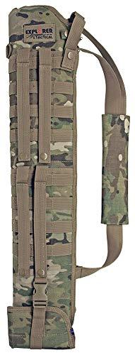 (Explorer orer Tactical Shotgun Scabbard - MOLLE w/Adjustable StrapTactical Molle Rifle Carrying Bags Military Army Shotgun Scabbard Rifle Carry Shoulder Bag for Short Barrel)