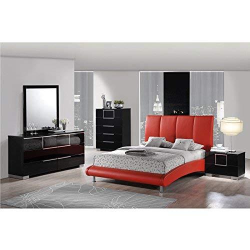 Amazon.com: Global cama, color rojo mate D90: Kitchen & Dining