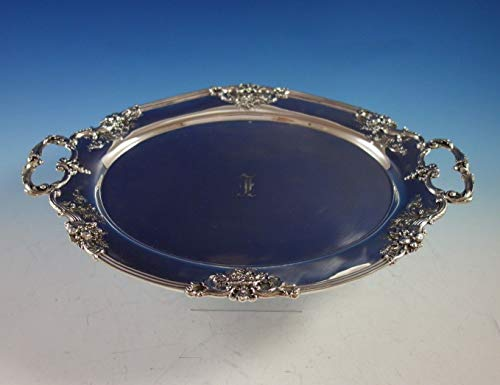 - Francis I by Reed and Barton Sterling Silver Tea Tray Oval #D570A (#2917)