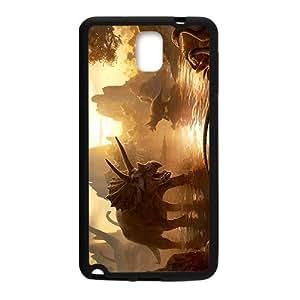 Sunset Creative Creative Dinosaurs Custom Protective Hard Phone Cae For Samsung Galaxy Note3