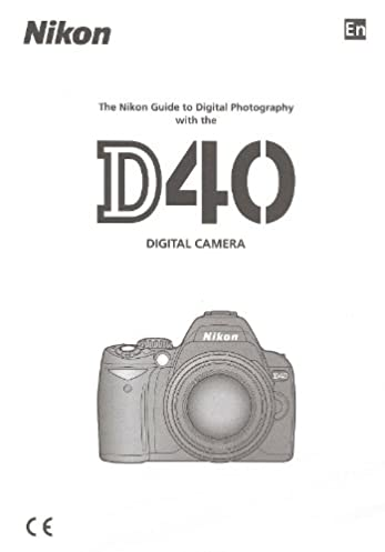 nikon d40 original nikon instruction manual english nikon amazon rh amazon com Nikon D40x Manual Printable Nikon D40x Manual Printable