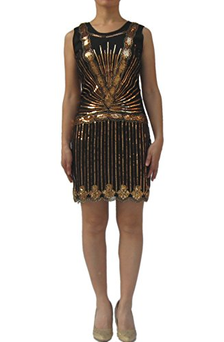 [Gatsby Roaring 1920s 20s Party Flapper Dresses Costumes Fashion Outfits Products] (Gatsby Outfits)