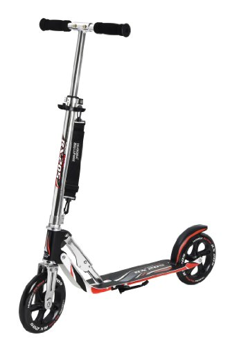 HUDORA Big Wheel GS 205, schwarz/rot, 880 x 350 x 1035 mm