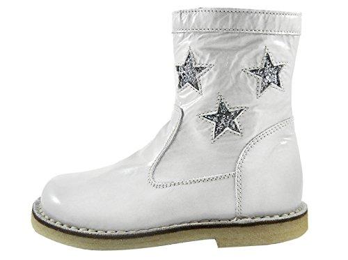 Zecchino dOro A06-4620 Mädchen Stiefel / Boots Grau (knautschlackgrau 246)