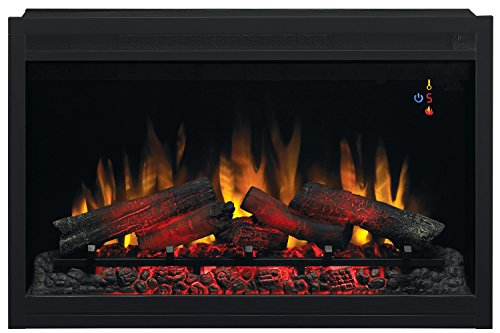 ClassicFlame 36EB110-GRT 36 Traditional Built-in Electric Fireplace