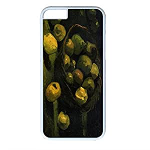 Vincent Van Gogh Customized Design White PC Case for Iphone 6 Fruit Basket