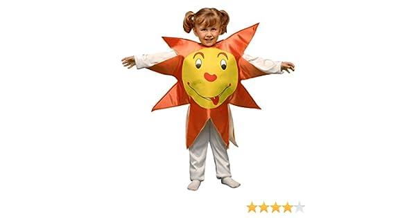 Disfraz Sol (3-4 años): Amazon.es: Juguetes y juegos