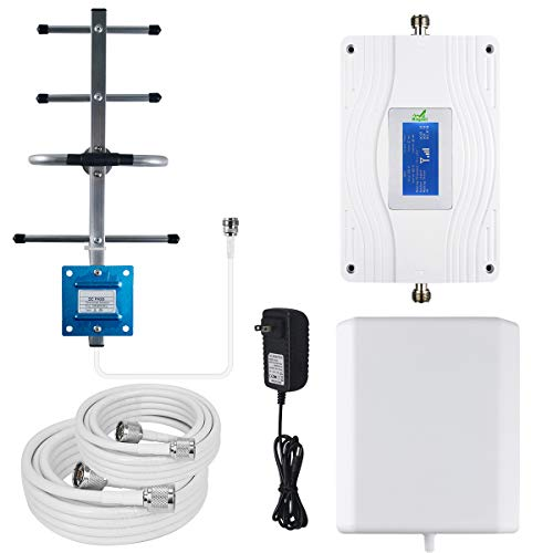 Mingcoll Cell Phone Signal Booster Dual Band 700MHz Band 13/12/ 17 Verizon AT&T Mobile Signal Booster 4G LTE Cell Phone Signal Amplifier Cellular Repeater for Home Verizon ATT T-Mobile (SDW70-49X) Dual Band Cellular Amplifier