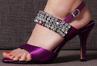 Sandaalit Solki Laruise Nahka Violetti Naisten 4YwnqTZ