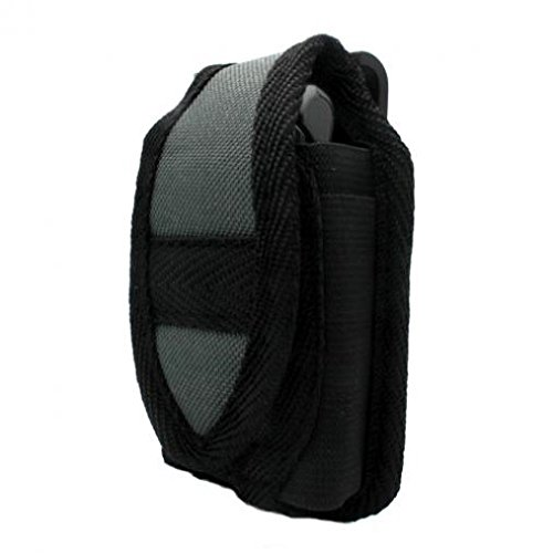 Nite-Ize Cargo Case Rugged Canvas Cover Belt Clip Holster for AT&T Blackberry Pearl 8110 - AT&T Blackberry Pearl 8120 - AT&T HP Veer 4G
