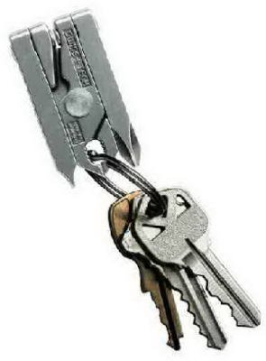 Swiss Tech Products ST50022 Micro-Tech Key Ring Multi-Tool, 6-In-1