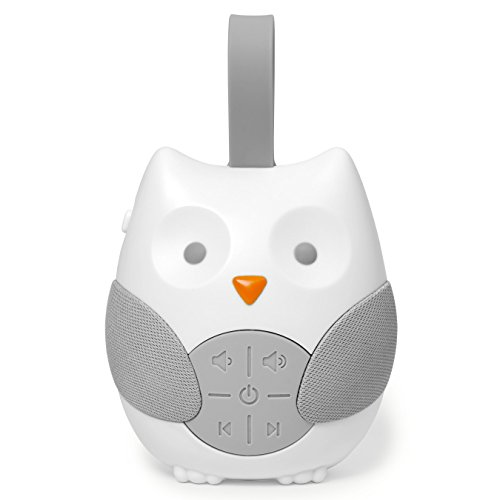 Skip Hop Stroll & Go Portable Baby Soother and Sound Machine, Owl