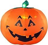 Gemmy Halloween Airblown Jack-O-Lantern 5.5' (Renewed)