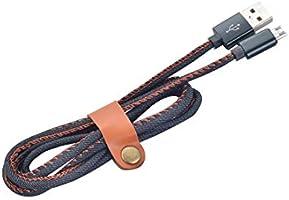 Amazon.com: Cargador Android USB Micro USB Cable con hebilla ...