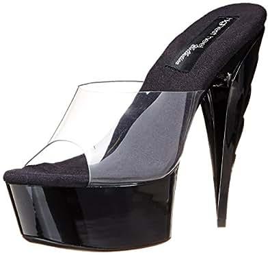 The Highest Heel Womens Ignite-11 - Cvyn Ignite-11 - Cvyn Transparent Size: 6 B(M) US