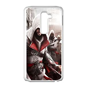 Ezio Assassins Creed Ii Game LG G2 Cell Phone Case White gift pp001_6350973
