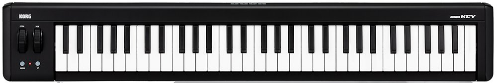Korg microKEY 61-Key USB-Powered Keyboard - Black/White by Korg