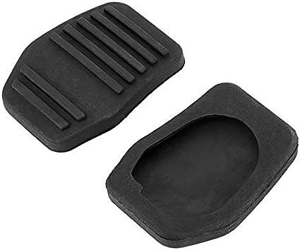 PANDIUS 1 Paar Gummi Bremsen-Kupplungs-Pedalabdeckung Pad for Ford Transit Connect 2002-2014 Cougar 1998-2001 Autozubeh/ör