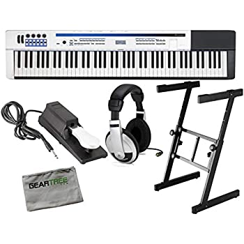 casio px 5s privia pro digital stage piano 88 key weighted hammer action with stand. Black Bedroom Furniture Sets. Home Design Ideas