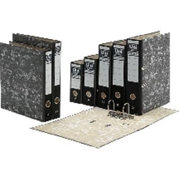 Unisystem 153341 - Archivador folio, lomo estrecho: Amazon.es: Oficina y papelería