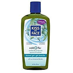 Kiss My Face Cold + Flu Shower Gel