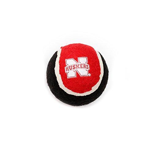Pet Goods Manufacturing Nebraska Cornhuskers Tennis Balls (4 Pack)