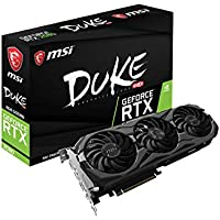 MSI GeForce RTX 2080 DUKE 8G OC Video Card + NVIDIA Gift