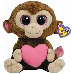TY Beanie Boos - CASANOVA the Valentine Monkey ( Beanie Baby Size )