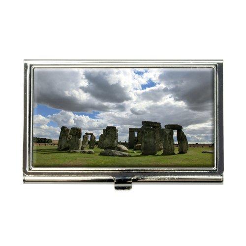 Stonehenge England Monument Business Credit Card Holder Case