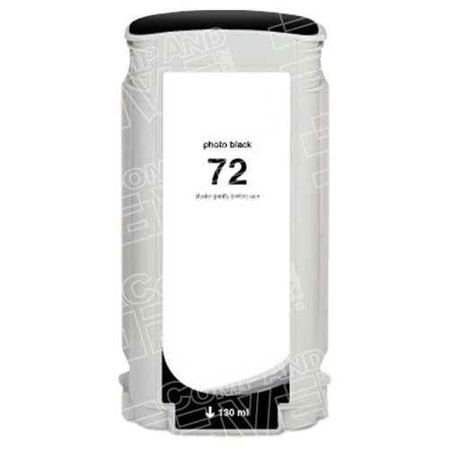 CompAndSave Replacement for Hewlett Packard (HP) C9370A (HP 72) Photo Black Ink Cartridge - (130ml Photo Black Ink Cartridge)