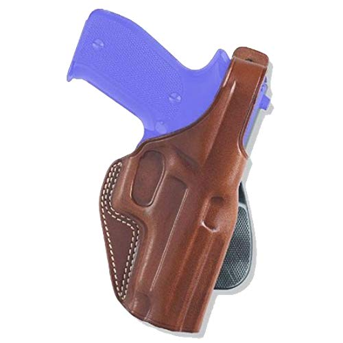 Galco PLE212 Unlined Paddle Gun Holster for Colt 1911, Right, Tan ()