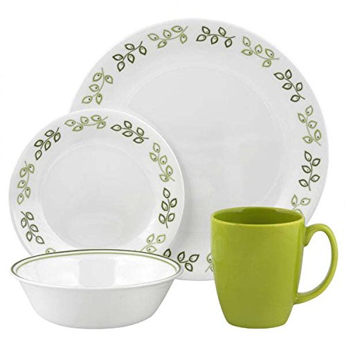 green corelle dishes - 2