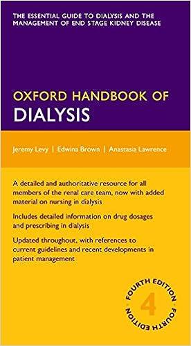 Kết quả hình ảnh cho Oxford Handbook of Dialysis