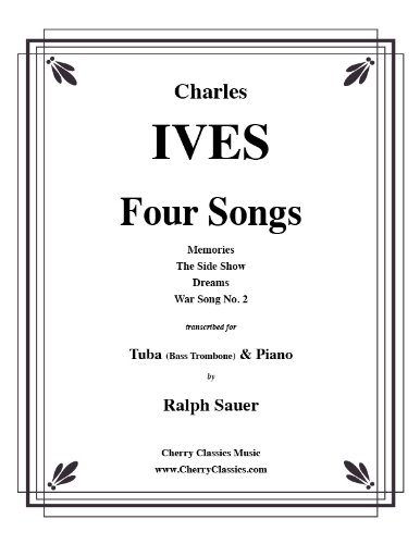 Four Songs for Tuba or Bass Trombone & Piano
