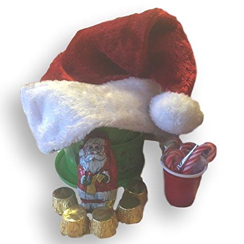 Christmas Spirit Corporate Gift Basket Bundle with Trader Joe's Cookie (Chocolate Martini Gift Basket)