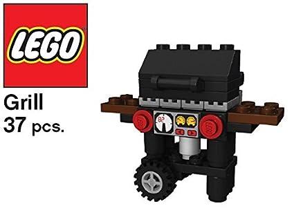 Buy Constructibles Bbq Grill Mini Model Lego Parts Instructions